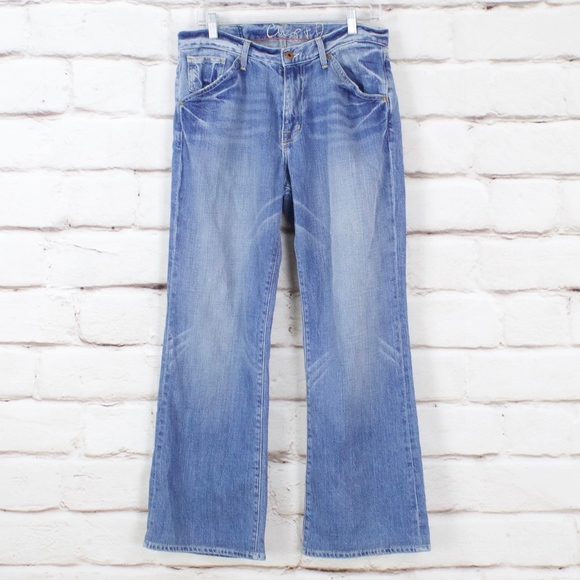 Chip & Pepper Denim - Chip & Pepper LA Girl Distressed Flare Jeans 32